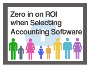 ROI Accounting Software Selection