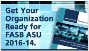 Excellent FASB ASU 2016-14 Resources Available from AccuFund